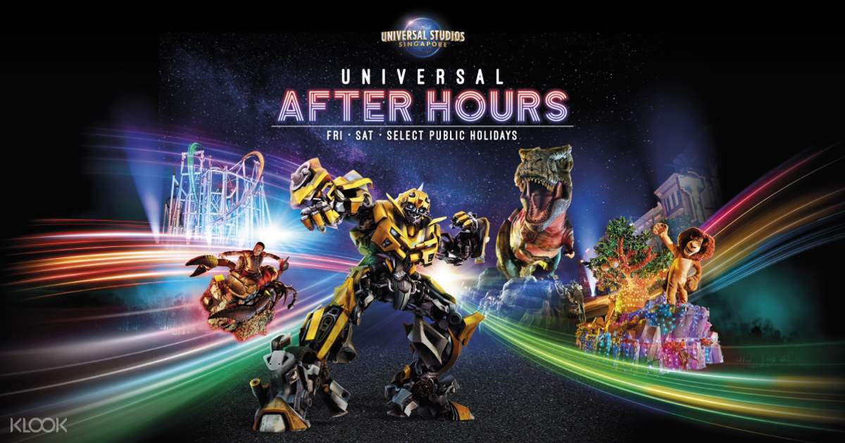 Universal Studios Singapore One Day Ticket Pass Klook
